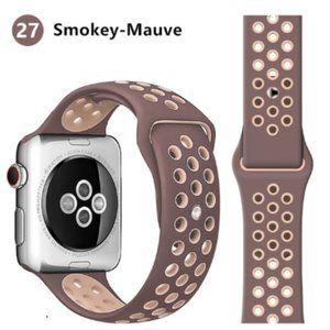 NEW Smokey Mavue Sport Silicone For Apple Watch
